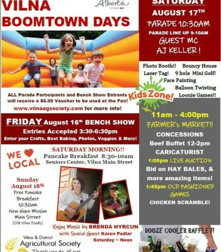 Boomtown Days Poster